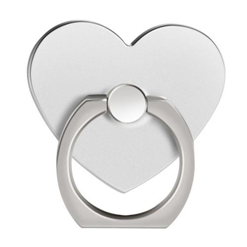 Ozdoba na mobil Srdce stříbrná