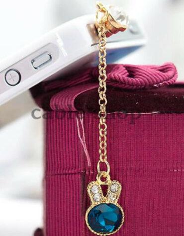 Ozdoba na mobil a kryt jacku KRÁLIČÍ HLAVA