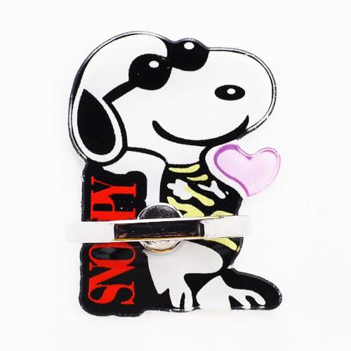 Ozdoba na mobil - postavička žlutý Snoopy s srdce