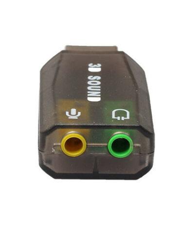 Redukce Jack USB - stereo varianta šedá Jack