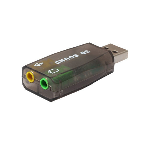 Redukce Jack USB - stereo varianta šedá