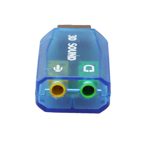 Redukce Jack USB - stereo varianta modrá Jack