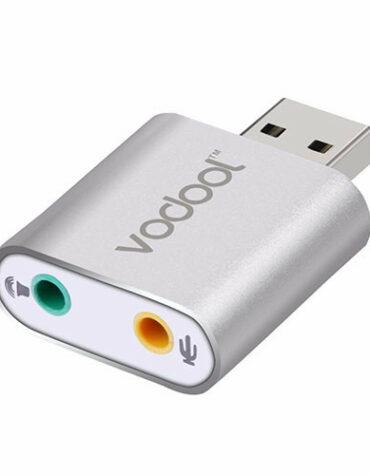 Stereo audio zvukový adaptér USB - VODOOL