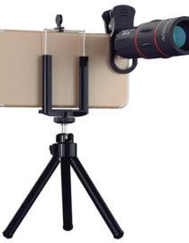 Teleskopický objektiv na mobil 18x zoom