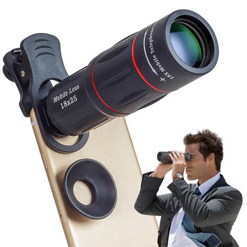 Teleskopický objektiv na mobil 18x zoom - ukázka použití