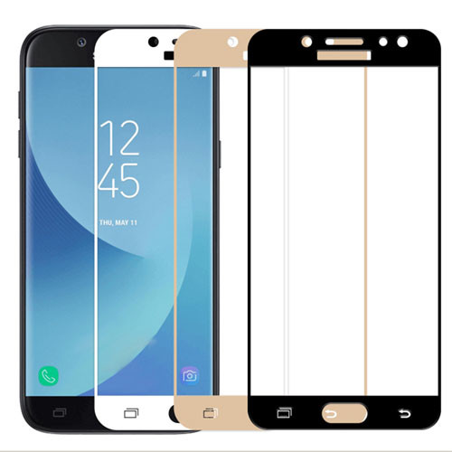 Tvrzené sklo na Samsung Galaxy J5 - 2017 s rámečkem 3 barvy