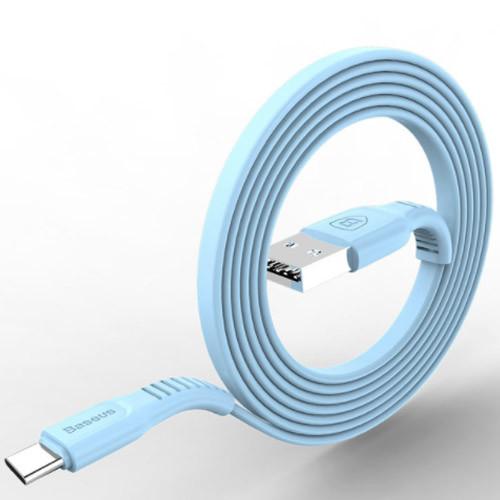 USB kabel typ C - 25cm až 200cm modrý