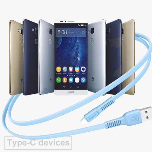 USB kabel typ C - 25cm až 200cm využití