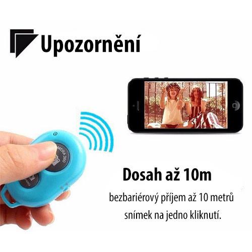 Univerzální stativ na mobil s dálkovým ovladačem - dosah ovladače