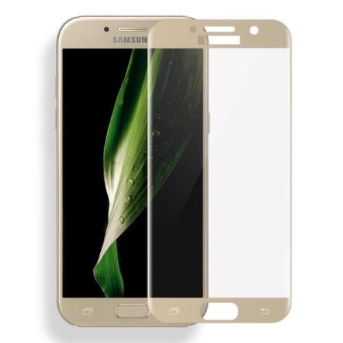 tvrzené sklo Samsung Galaxy A3 zlaté 2