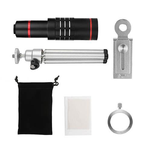 Teleskopický objektiv na mobil 18x zoom – set 2 obsah balení