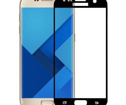 Tvrzené sklo Samsung S7 s rámečkem černé