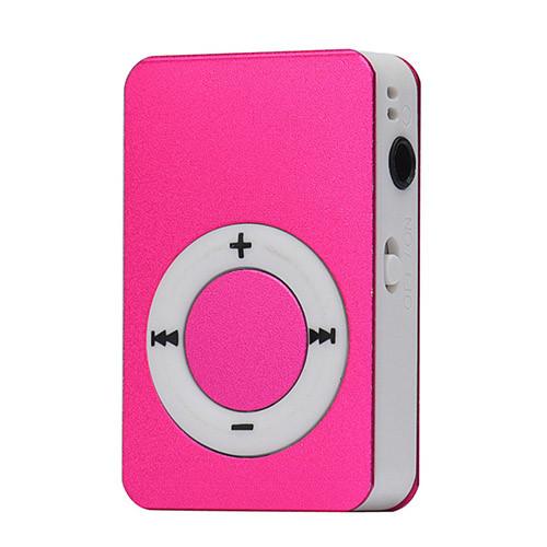 Mini MP3 přehrávač fialová