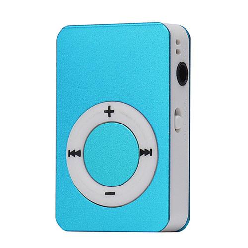 Mini MP3 přehrávač modrá