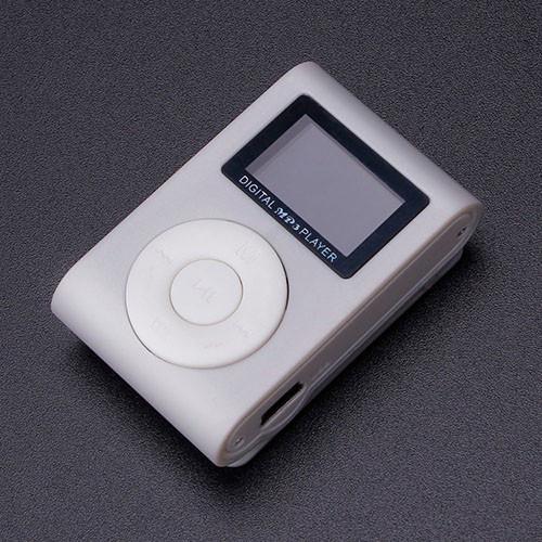 Mini MP3 přehrávač s displejem – šedá 2