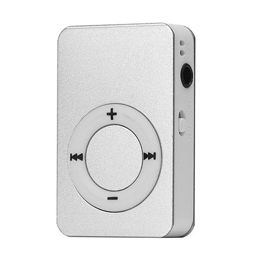 Mini MP3 přehrávač stříbrná