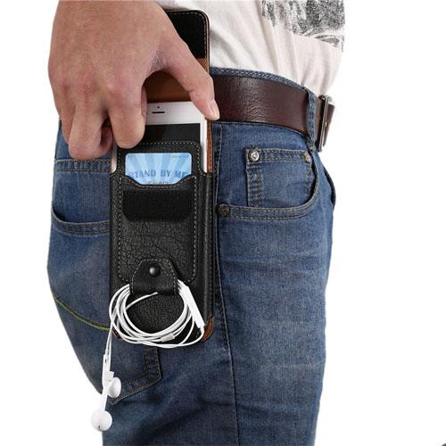 Pouzdro na opasek pro displej 5,5 černé - kalhoty