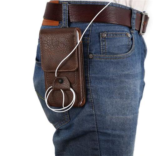 Pouzdro na opasek pro displej 5,5 hnědá – kalhoty