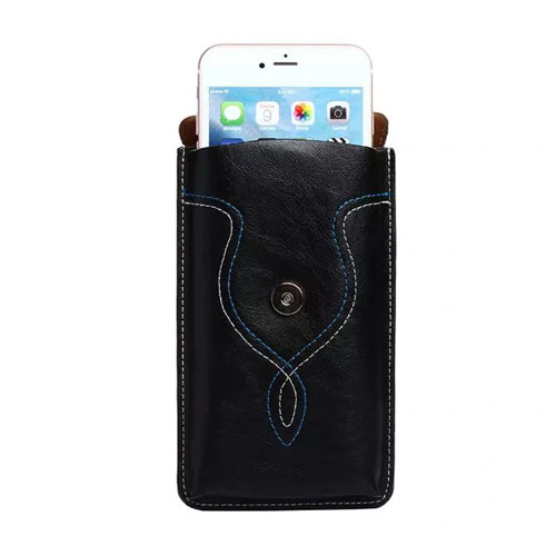 Pouzdro na opasek pro displej 5,7 - CHEZVOUS - černé mobilem