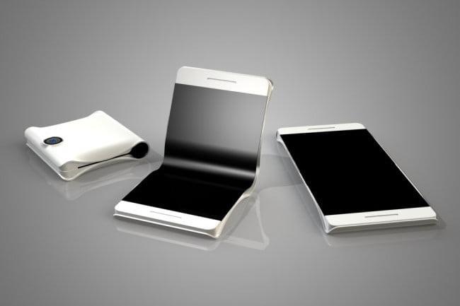 skládací smartphone