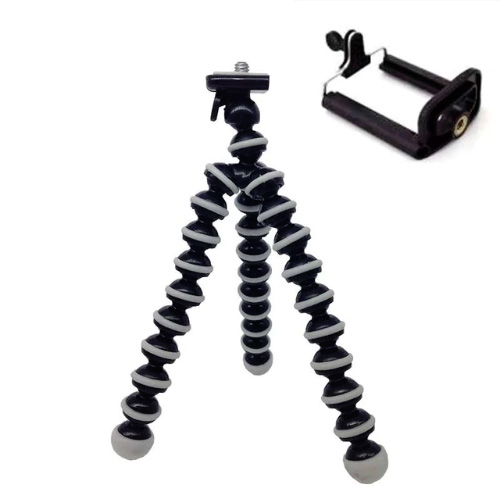 Flexibilní stativ na mobil - černý