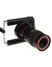 Teleskopický objektiv na mobil - 8x zoom - detail