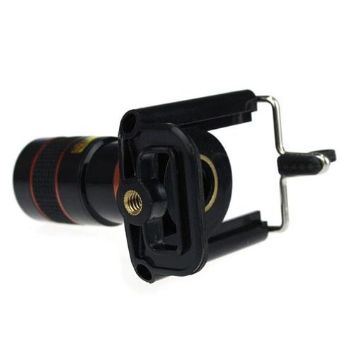 Teleskopický objektiv na mobil - 8x zoom - zadní detail