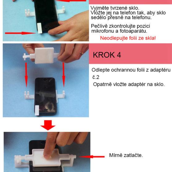 SET na instalaci tvrzeného skla do 6″