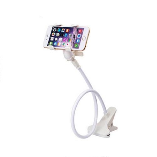 držák na mobil stolní - otočná hlava - bílý 2