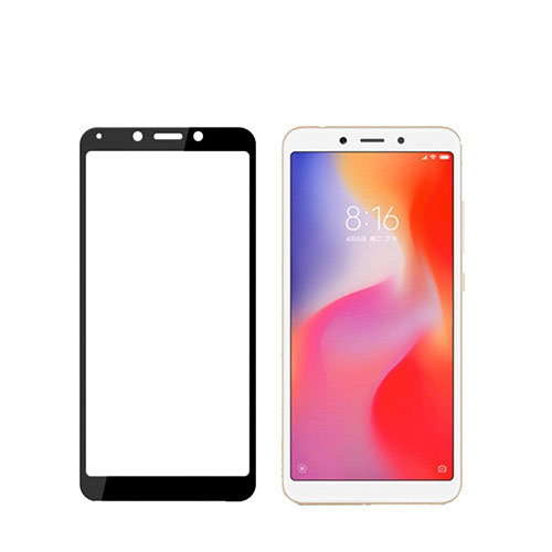 Tvrzené sklo na Xiaomi Redmi 6_6A černé