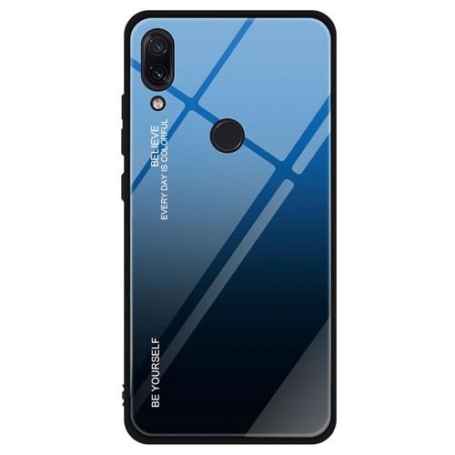 Zadni pevny kryt Xiaomi Redmi Note 7 Mistic Blue