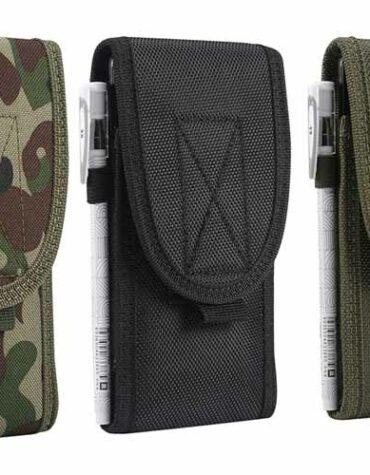 Pouzdro na opasek Army cerna khaki maskacova