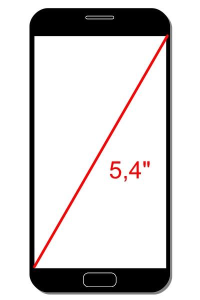 ukazka mereni palci u telefonu